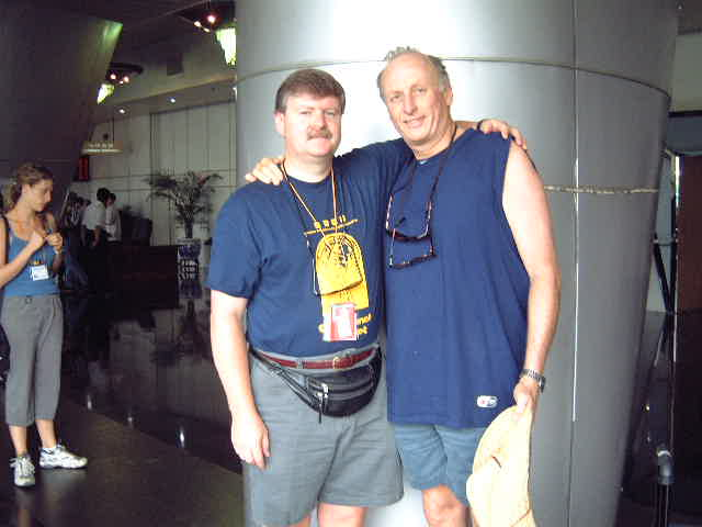 Bill Belsey with iEARN founder, Peter Copen