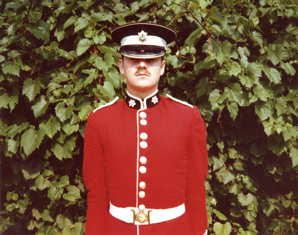I served in the Governor General's Foot Guards Regiment in