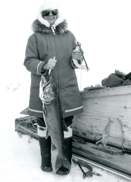 Helene Lake Trout Fishing Rankin Inlet 1990